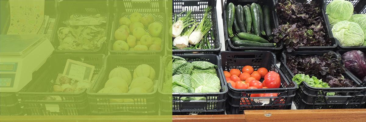 Trouvez de bons produits frais dans notre épicerie solidaire